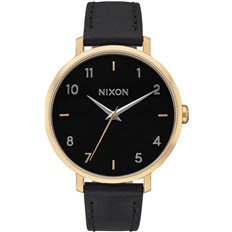 hodinky NIXON - Arrow Leather Goldblack (513)