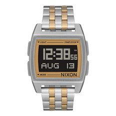 hodinky NIXON - Base Silver Light Gold (1431)