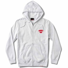 mikina DIAMOND - Viewpoint Zip Hoodie Sp18 White (WHT)