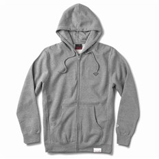 mikina DIAMOND - Micro Brilliant Zip Hoodie Heather Grey (HTGR)