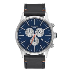 hodinky NIXON - Sentry Chrono Leather Bluesunray (1258)