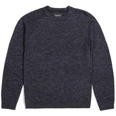 svetr BRIXTON - Anderson Sweater Grey/Black (GYBLK)