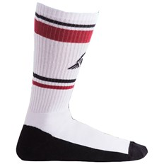 ponožky STINKY - Wings White/Black/Red (WHITE/BLACK/RED)