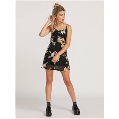 šaty VOLCOM - Slushy Hour Dress Black Combo (BLC)