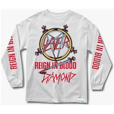 triko DIAMOND - Reign In Blood Ls Tee White (WHT)