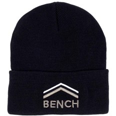 kšiltovka BENCH - Turn Up Beanie With Graphic Black Beauty (BK11179)