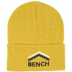kšiltovka BENCH - Turn Up Beanie With Graphic Antique Moss (KH029)