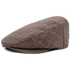 kšiltovka BRIXTON - Barrel Snap Cap Brown Plaid (BRPLD)