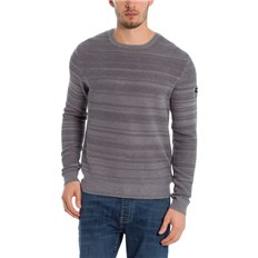 bunda BENCH - C-Neck Structured Light Grey Marl Winter (MA1052)
