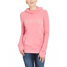 mikina BENCH - Corp Print Hoody Chateau Rose (PK052)