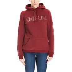 mikina BENCH - Corp Print Hoody Cabernet (RD11343)