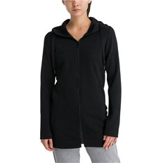 bunda BENCH - Long Embossed Neoprene Jacket Black Beauty (BK11179)
