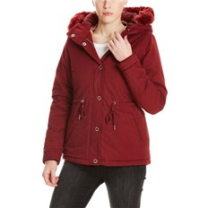 bunda BENCH - Padded Jacket With Fur Lining Cabernet (RD11343)