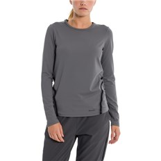 triko BENCH - Active Mesh Tape Longsleeve Dark Grey As Swatch (GY11433)