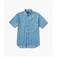 košile DIAMOND - Dmnd Repeat Chambray Ss Woven Light Blue *Do Not Use* (LTBL)
