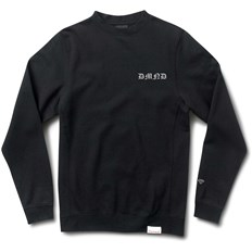mikina DIAMOND - Hand Signs Crewneck Black (BLK)