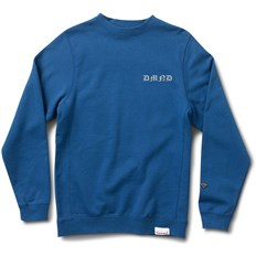 mikina DIAMOND - Hand Signs Crewneck Royal (ROY)