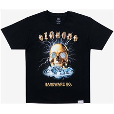triko DIAMOND - Gold Skull S/S Black (BLK)