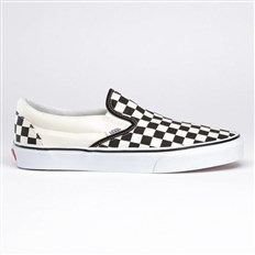 boty VANS - Classic Slip-On Checker/White (BWW)