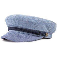 čepice BRIXTON - Fiddler Cap Light Blue/Navy (LBLNV)
