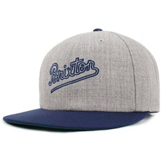 kšiltovka BRIXTON - Hammond Snapback Light Heather Grey/Navy (LHGNV)