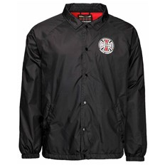 bunda INDEPENDENT - Truck Co Coach Jacket Black (BLACK)