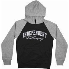 mikina INDEPENDENT - Letterman Black/Dark Heather (BLACK DARK HEATHER)