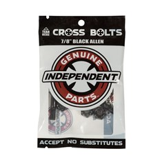 šroubky INDEPENDENT - Genuine Parts Allen Hardware Black Bx12 Pks/8 (88764)