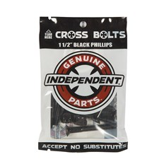šroubky INDEPENDENT - Genuine Parts Phillips Hardware Black Bx12 Pks/8 (88763)