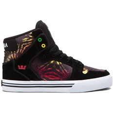 boty SUPRA - Kids Vaider High Black/Multicolor - White (BMU)