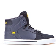 boty SUPRA - Kids Vaider Grey/Black (GBK)
