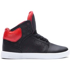 boty SUPRA - Kids Atom Black/Red-Black (BKR)