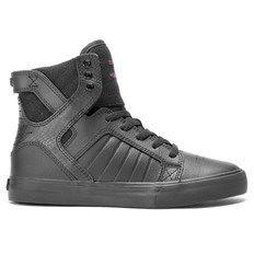 boty SUPRA - Kids Skytop Red Carpet Series-Black (RCS)