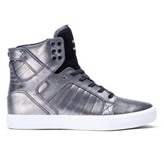 boty SUPRA - Kids Skytop Pewter/Black-White (PTB)