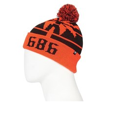 kulich 686 - Throwback Pom Beanie Infrared (IFRD)