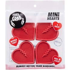 grip CRAB GRAB - Mini Hearts Red (RED)