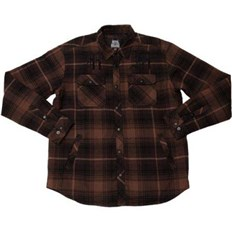 bunda METAL MULISHA - Wartime Ls Flannel B (BRN)