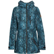 bunda NIKITA - Hollyhock Stretch Jacket Teal Snakeskin (TEL)