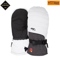 rukavice POW - W's Falon GTX Mitt +WARM White (B4BC) (Short) (WH)