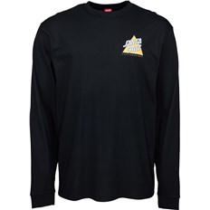 triko SANTA CRUZ - Not A Dot L/S T-Shirt Black (BLACK)