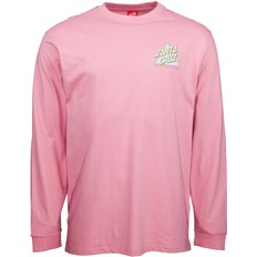 triko SANTA CRUZ - Not A Dot L/S T-Shirt Rose Pink (ROSE PINK)