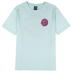triko SANTA CRUZ - Classic Dot Tee Bubblegum blue (BUBBLEGUM BLUE)