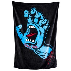 ručník SANTA CRUZ - Screaming Hand Blanket Black (BLACK)