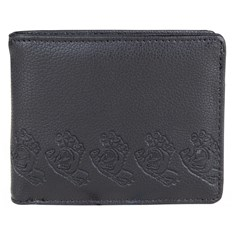 peněženka SANTA CRUZ - Screamer Wallet Black (BLACK)