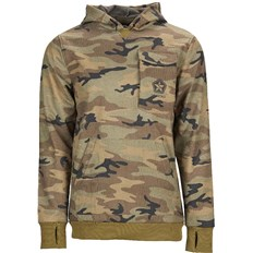 mikina SESSIONS - Hellcat Graphic 1Pullover Hoody Green Camo (GRC)