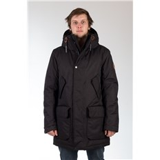 bunda REELL - Mountain Parka Black Black (Black )