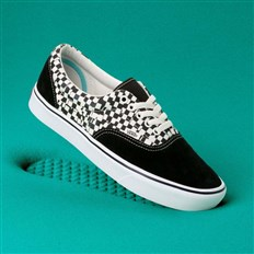 boty VANS - Comfycush Era (Tear Check) Blk/True Wht (V9Y)
