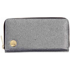 peněženka MI-PAC - Zip Purse  Pebbled Silver/Black (019)