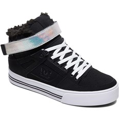 boty DC - Pure High-Top V Wnt Black/Silver (BS2)