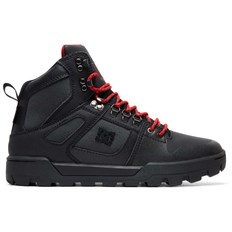 boty DC - Pure Ht Wr Boot Black/Grey/Red (XKSR)